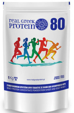 1kg Real Greek Whey Protein